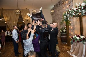 Wedding Groom Toss