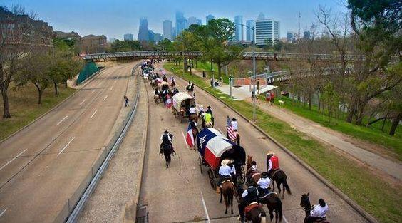 Trail Rides Into Houston for Houston Rodeo