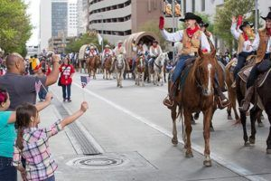 Downtown Houston Rodeo Parade